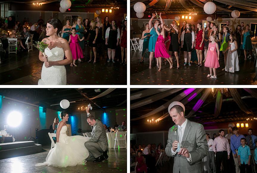 Heritage Hall Liberty Missouri wedding reception