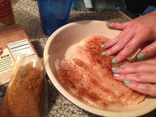 cock rub spice chicken