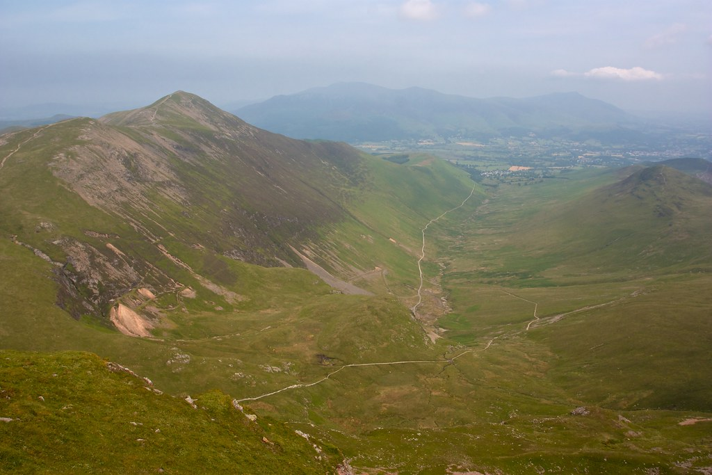 Looking down Coledale