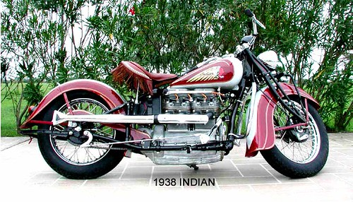 38 INDIAN MOTORCYCLE LARGE