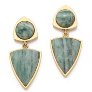 lizzie fortuato earrings made in the usa in new york