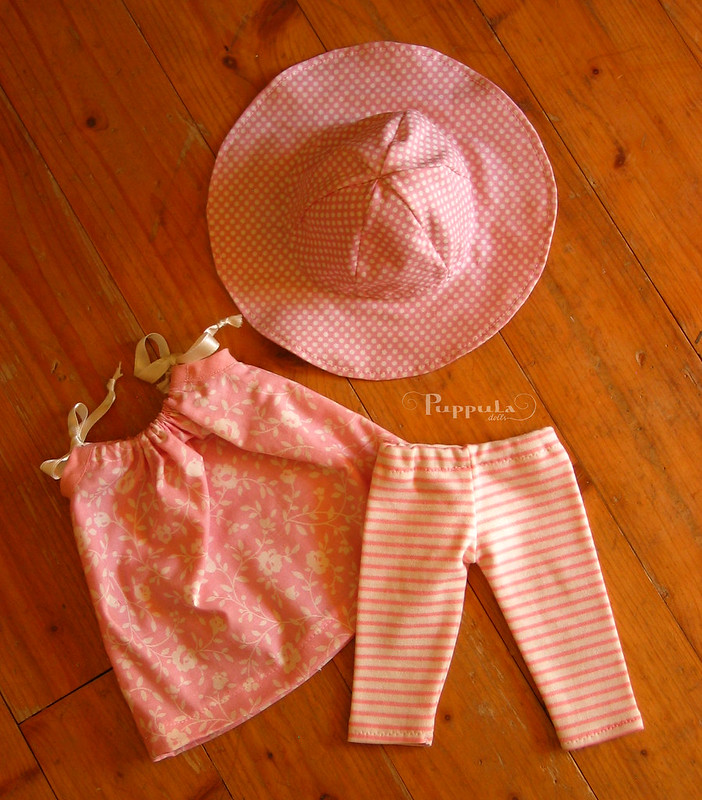 Summer outfit for a 15 inch doll