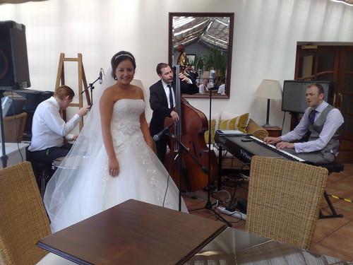 Rachel with the Bossa Quartet