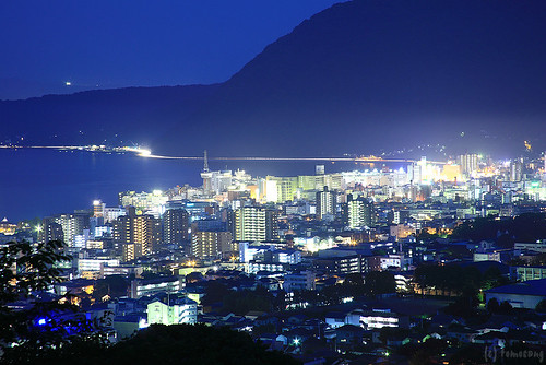 Night at Beppu