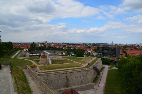 Bastion Franz der Zitadelle Petersberg in Erfurt