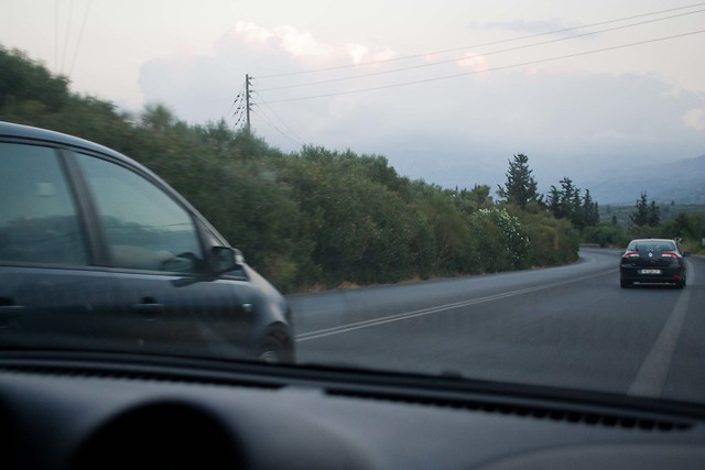 Crazy Drivers | Crete, Greece