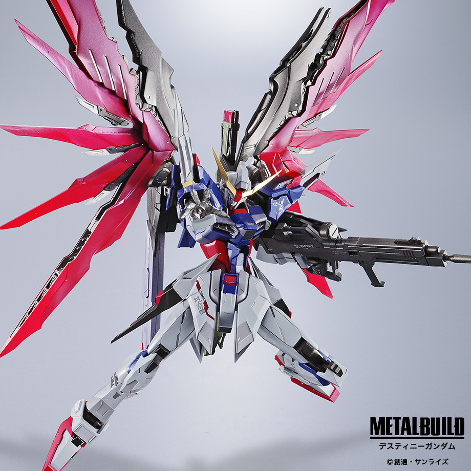 Metal Build Gundam Destiny Preview Tamashii