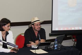 Conferencia de Eduardo Lizalde en la IX Feria Internacional del Libro de Panamá