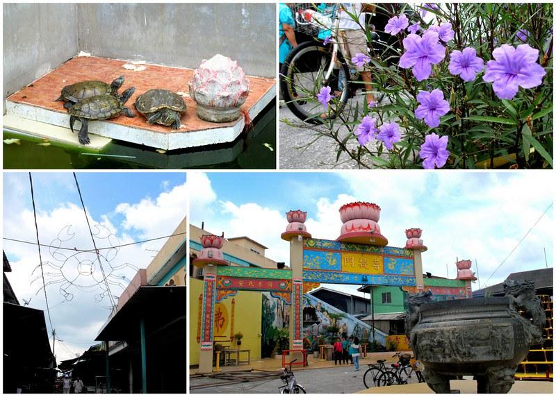 Pulau Ketam, Crab Island - heart of town