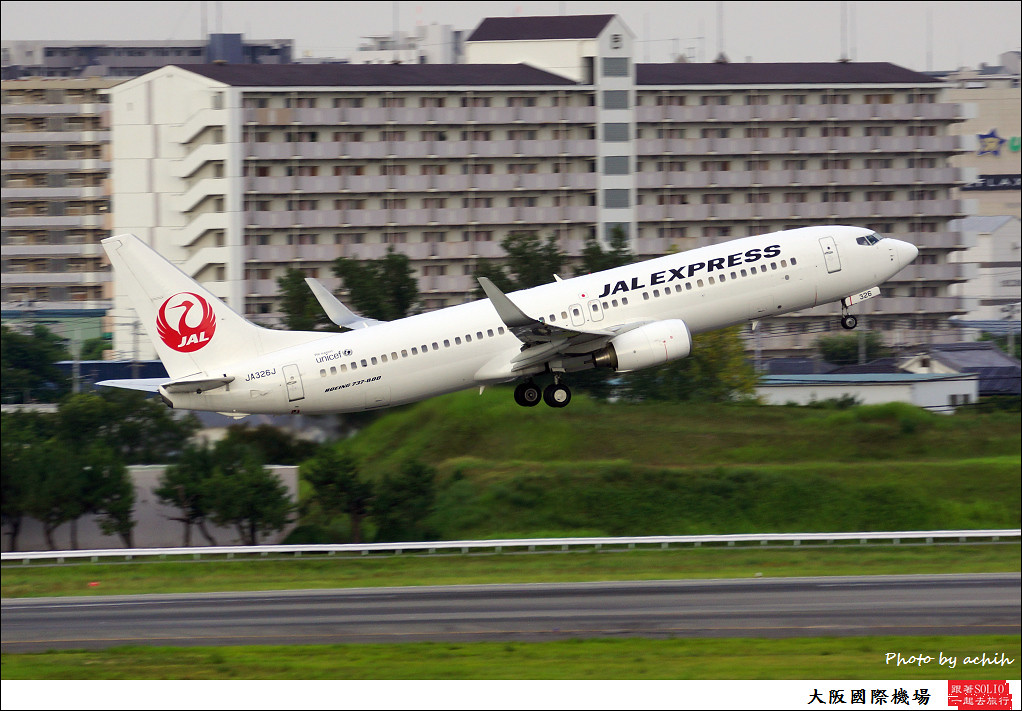 JAL Express - JAL JA326J-006