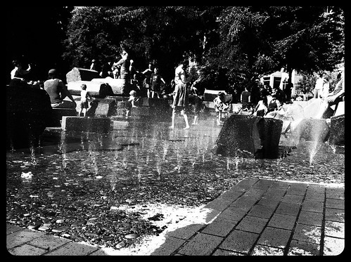 kids at play in summer