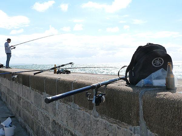 pêche digue nord