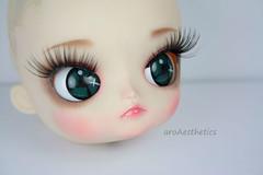 nose, face, skin, lip, head, eyelash, eyelash extensions, close-up, blue, pink, doll, eye, organ, toy,