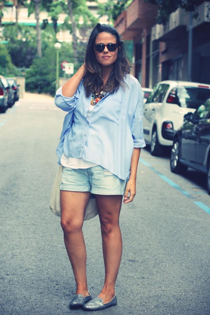 Look Slippers + Shorts -Monicositas