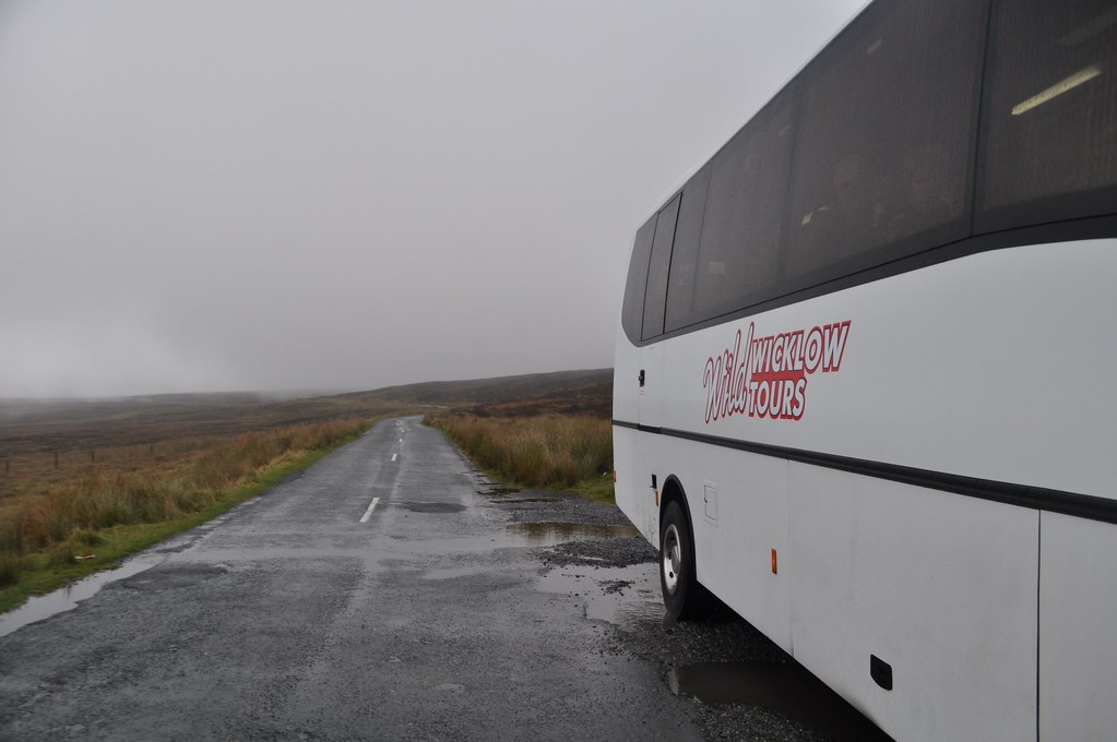 The Wild Wicklow Tour Motorcoach Stopped for those Kodak Moments