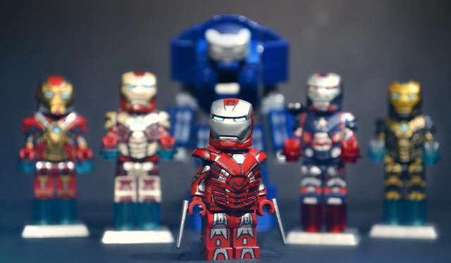 LEGO Iron Man 3 : Mark 33 Silver Centurion Suit   Flickr ...  Lego