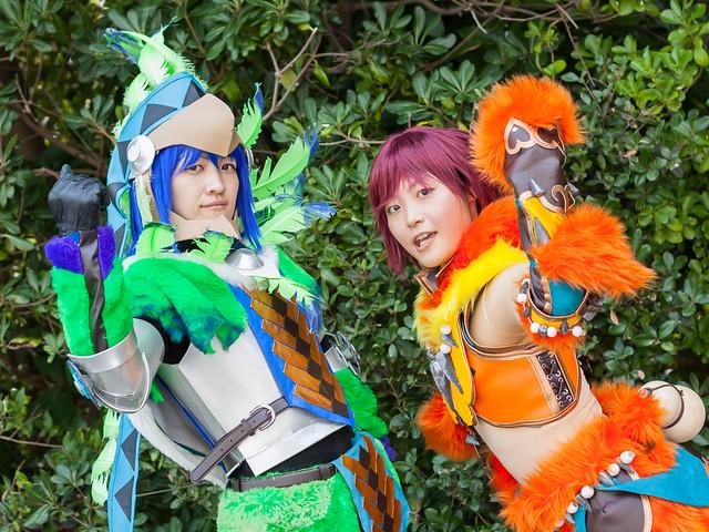 Cosplayers : Tokyo Game show 2013 at Makuhari Messe