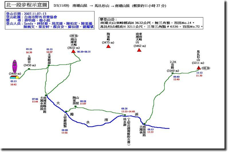 北一段步程示意圖(3)