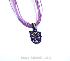 Purple Transformers Pendant