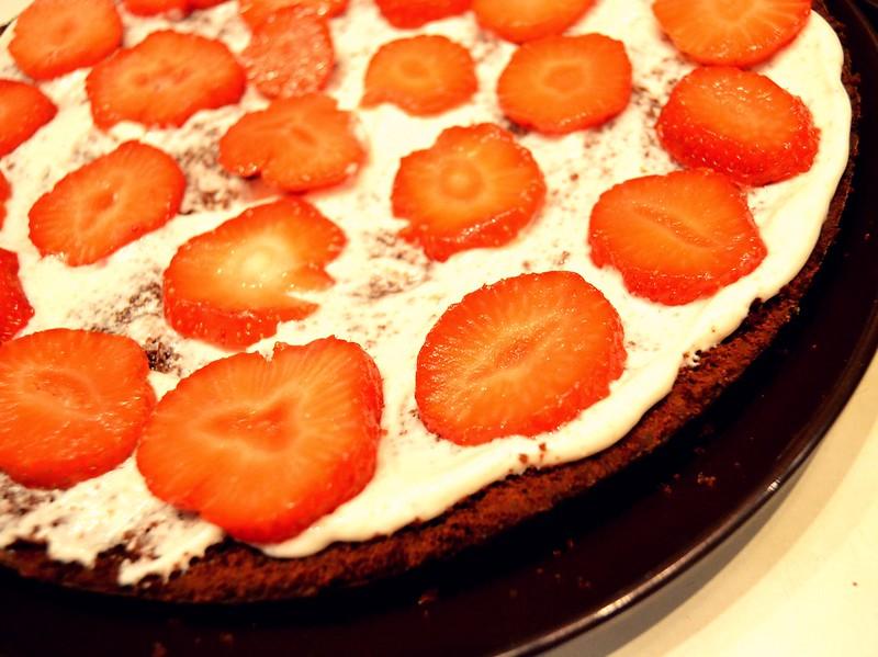 torta de cumple frutillas