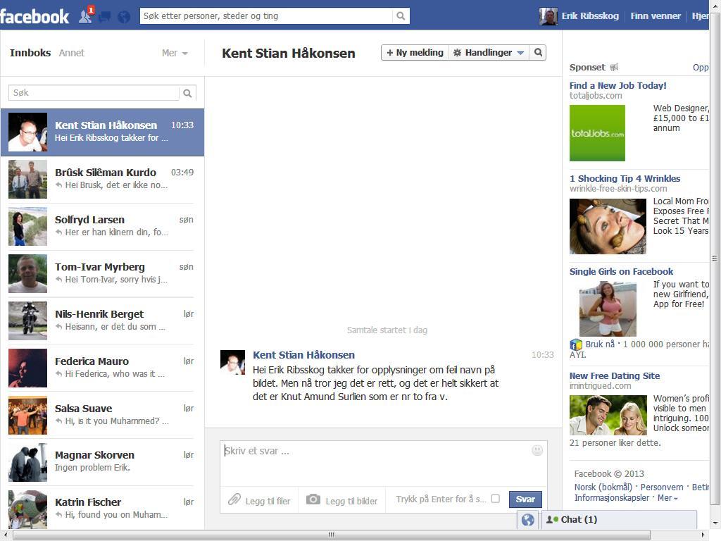 facebook håkonsen