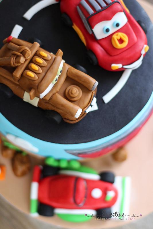 Cars Cake 4