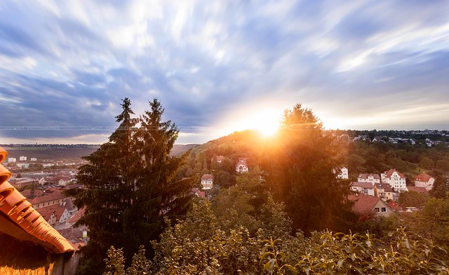 Sunset in the Black Forest - Germany