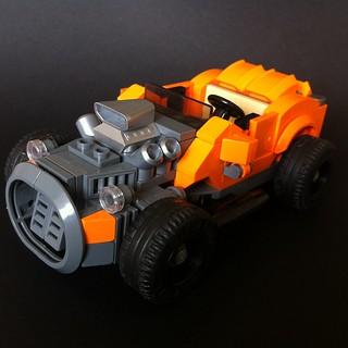Orange hotrod turbo!