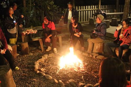 烤火分享。