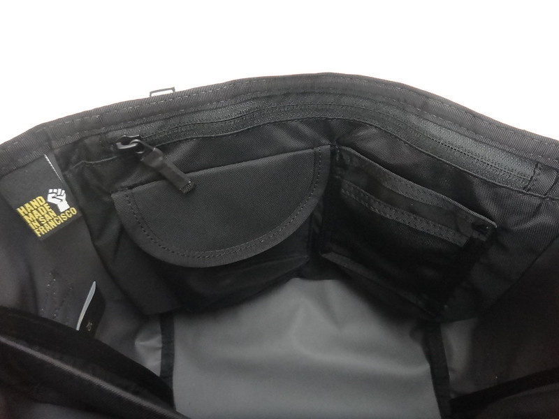 Timbuk2 Custom Classic Messenger Bag - Bag Inside Pocket