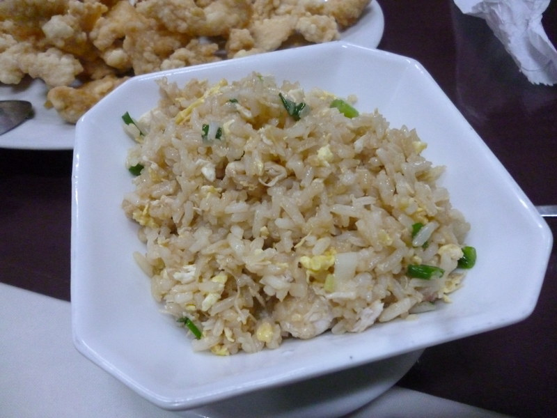 Fried rice in Arica