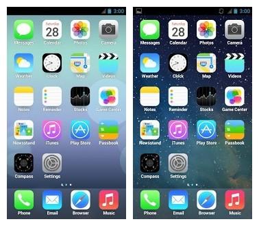 Iphone launcher app apk | iOS 11 Launcher Apk Download For