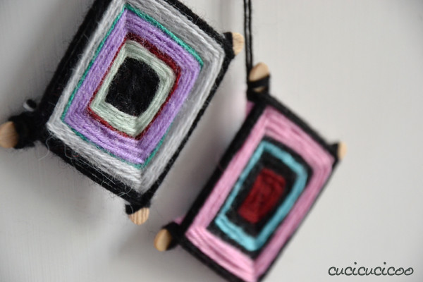 woven hopi eye christmas tree ornaments