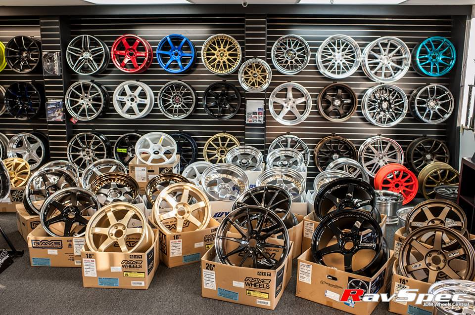 Wheels Display - Store