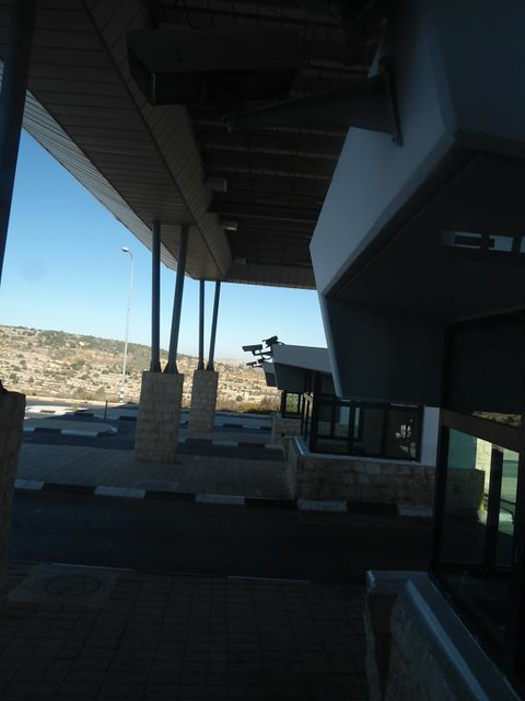 Checkpoint para entrar al West Bank