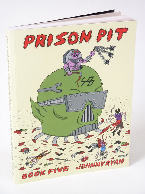 Prison Pit Book 5 cover photo