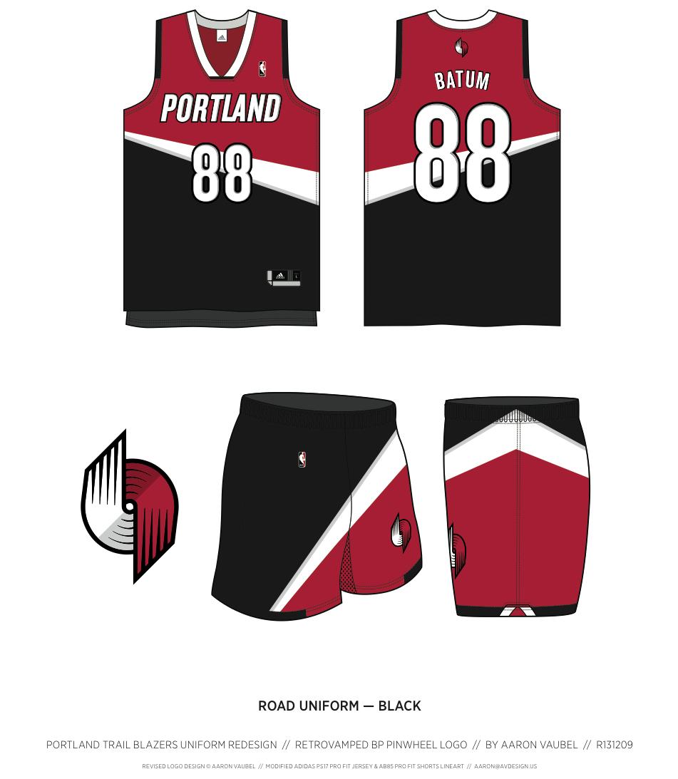 Blazers Trail: Portland Trail Blazers Redesign Ideas