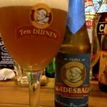 ベルギービール大好き!!セント・イデスバルド・トリプル St. Idesbald Triple@ベル・オーブ東京芸術劇場