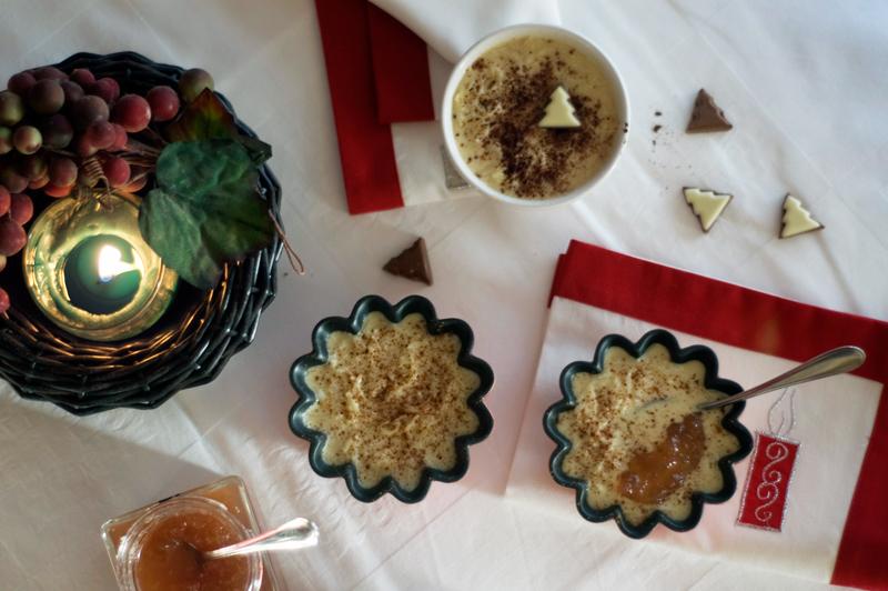 Aletria de arroz e coco