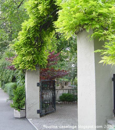 Vogelweide Garteneingang
