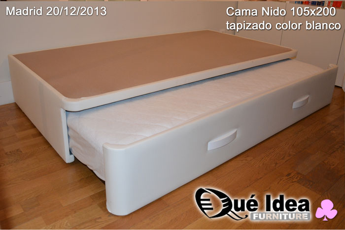 Canap nido juvenil qu idea furniture for Cama nido con arcon