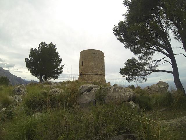 Excursion sa torre de Tuent Mallorca