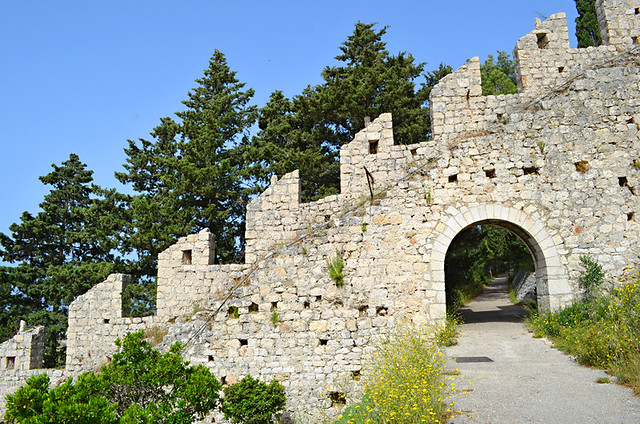 Fortress Walls, Hvar, Croatia