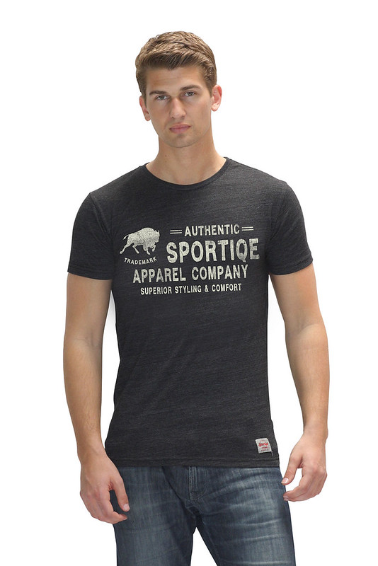 Sportiqe Black Waverly Oats T-shirt