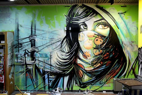 Alice Pasquini - Rome (IT) by AliCè