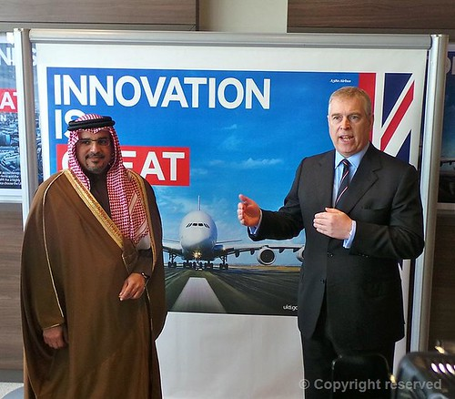 The Duke of York in Bahrain