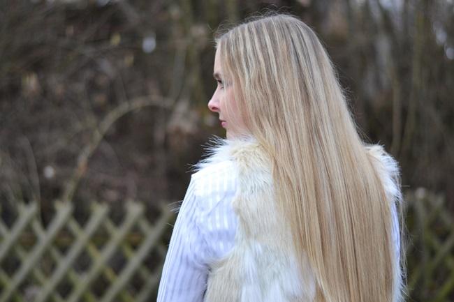 Outfit Fake Fur Weste (3)