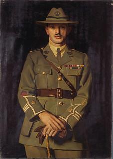 William James Hardham, by Harry Linley Richardson, 1920