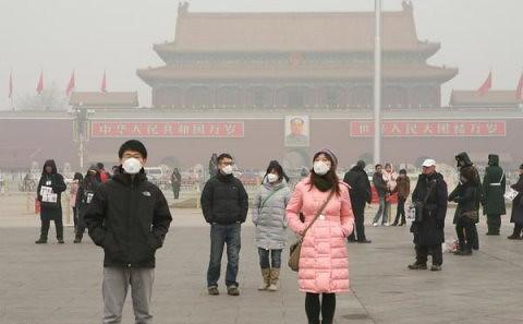 中國空污等環境問題嚴重,賴偉傑認為,如能在中國推銷環境揭露的整體機制,才是一個環境管理的藍海策略。圖片來源:綠色和平