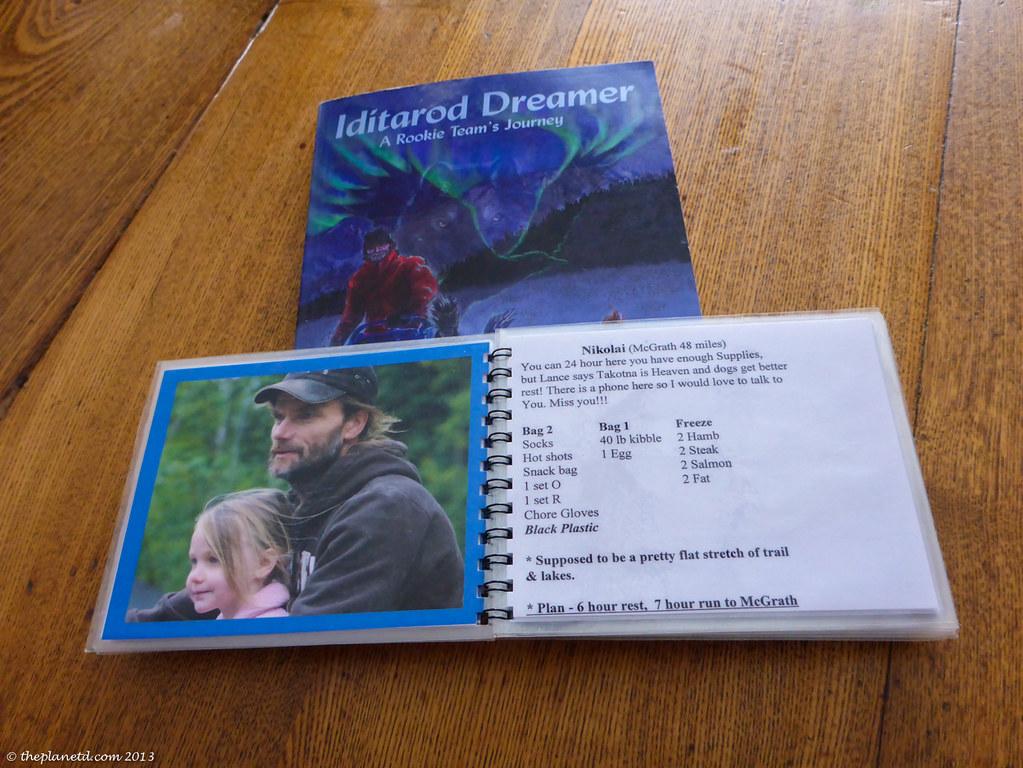 Staying organized on the Iditarod trail
